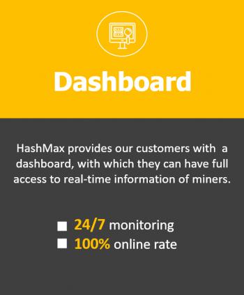 Mining hosting dashboard