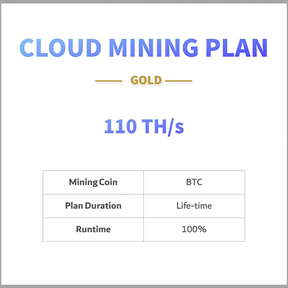 BTC cloud mining plan
