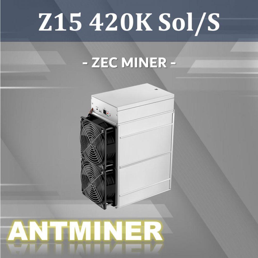 hashmax miner Z15-420k