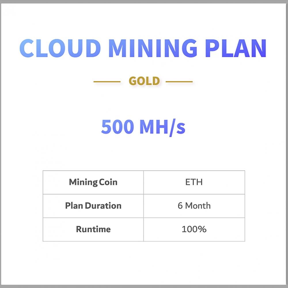 ETH cloud mining